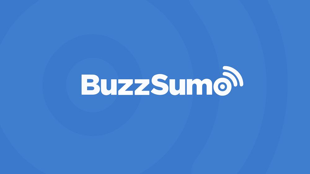 Logo of BuzzSumo, a content marketing tool