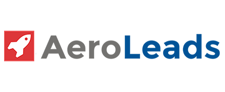 Logo of AeroLeads, one of the sales tools